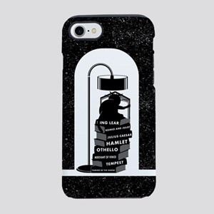 Cat Reading Shakespeare iPhone 7 Tough Case